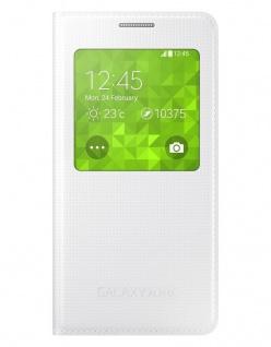 Original Samsung S-View Cover Case Klapp-Tasche Schutz-Hülle für Galaxy Alpha