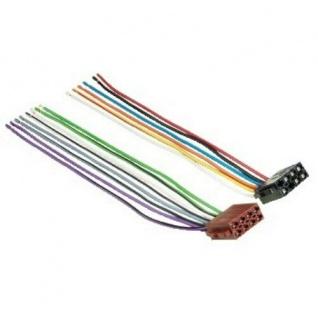 Hama KFZ ISO-Adapter Auto-Radio ISO-Stecker Anschluss-Kabel Strom Lautsprecher