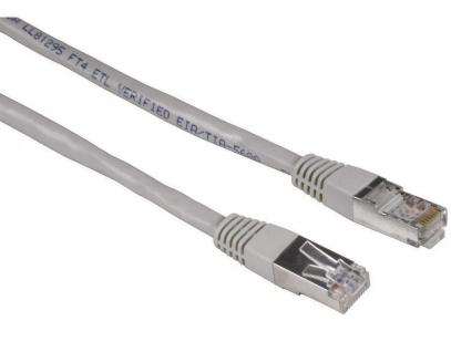Hama 5m Netzwerk-Kabel Cat5e Gigabit STP Lan-Kabel Patch-Kabel Cat 5e PC DSL