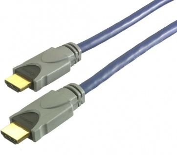 Vivanco HQ 5m HDMI-Kabel 3D 1080p Full HD HDMI-Stecker für TV LED LCD Beamer PS4