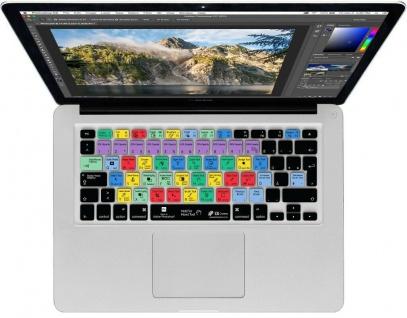 KB Tastatur-Abdeckung Shortcuts Cover Schutz für Photoshop MacBook Pro / Air