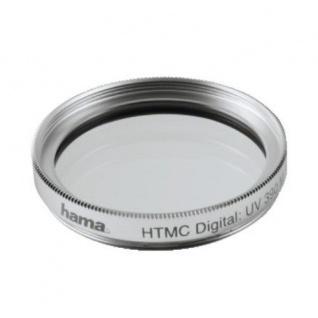 Hama UV-Filter Speerfilter O-Haze 49mm HTMC-vergütet UV-390 silber UV Filter