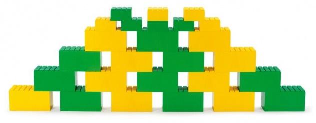 Dantoy riesen Bausteine Bauklötze Robuste Begehbare XXL Steine Kinder Spielzeug