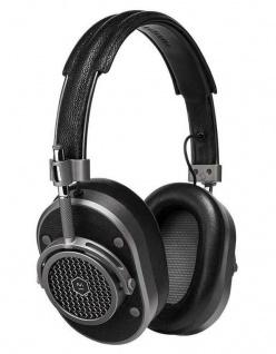 Master & Dynamic MH40 Gunmetal Over-Ear Headset Kopfhörer Earphones 3, 5mm Klinke