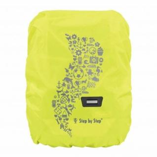 Step-by-Step Regen- und Sicherheitshülle Medium Gelb Schul-Ranzen Ruchsack-Hülle