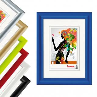Hama Bilder-Rahmen Malaga Moderner Kunststoff-Rahmen Farben Bunt 13x18 bis 50x70
