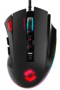 Speedlink TARIOS RGB USB Profi Gaming Maus Mouse Makros Tasten 24000 dpi eSport