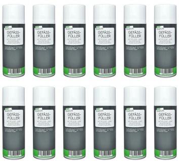 KOKA 12x Gefäßfüller Ausdehnungsgefäß Füller Druck Spray Heizung mit Pflege