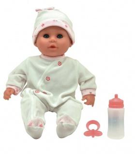 Dolls World Kleines Baby-Püppchen Baby-Puppe weicher Körper Lebensecht Spielzeug
