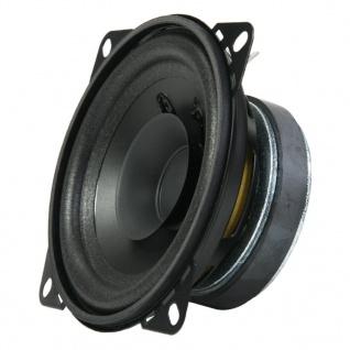 AIV 1x 10cm Lautsprecher Dual-Cone DIN 100 50 Watt 100mm Universal Boxen Box PKW