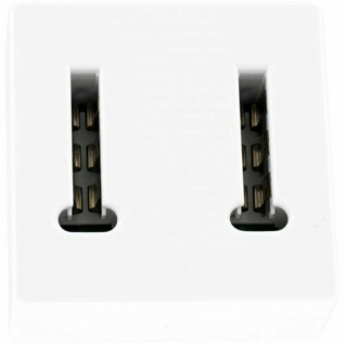 Hama Telefon Adapter Frankreich F Splitter 1>2 F010 Stecker Telefondose Dose