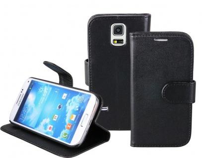 Patona Slim Book-style Tasche Klapp-Etui Schutz-Hülle für Samsung Galaxy S5 mini