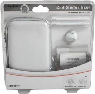 Brooklyn Starter Zubehör-Set Tasche Stifte Folie etc für Nintendo DSi DS Lite