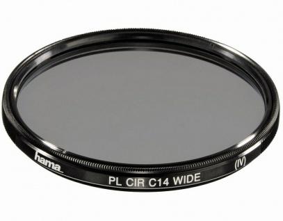 Hama Polarisations-Filter 49mm Pol-Filter circular C14 vergütet Foto DSLR Kamera
