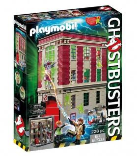 Playmobil 9219 Ghostbusters Feuerwache Geisterjäger Gespensterjagt Feuerstation