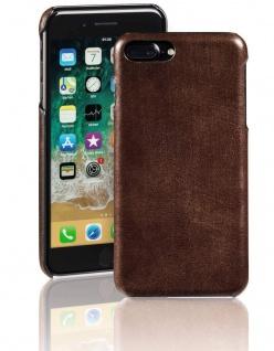 Pazzimo Cover Leder Hard-Case Schale Schutz-Hülle für Apple iPhone 7 Plus 8 Plus