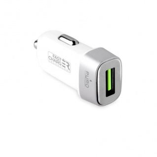 Car Charger Compact KfZ-Adapter White USB