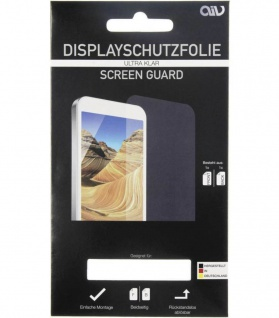 AIV Schutz-Folie Display-Folie Screen-Guard Handy-Folie für Apple iPhone SE 5s 5