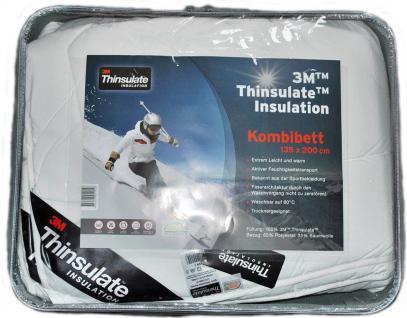 Wendre Thinsulate Insulation Kombibett 135x200cm 450g+600g Baumwolle Polyester