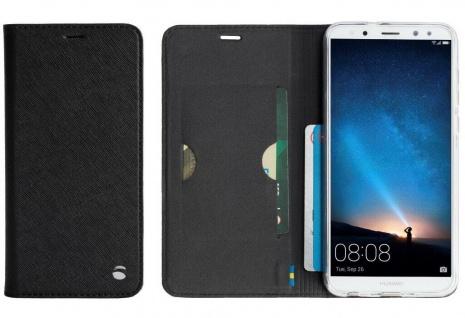 Krusell Folio Wallet Tasche Smart Hülle Book Case Cover für Huawei Mate 10 Lite