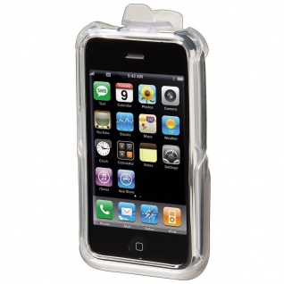 HAMA HARDCASE Kickstand für Apple iPhone 3G Transparent