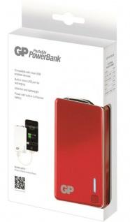 GP 2500mAh Power-Bank Externer Zusatz-Akku USB Ladegerät Batterie Handy Tablet