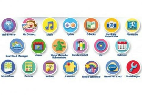"""Vtech Storio Max 5"""" inkl. Tasche Interaktives Lern-Tablet 8GB Pink Spiel-Konsole - Vorschau 4"""