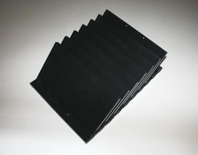 USM Haller Roll-Container Schrägfach Papier-Einsatz für A4 Schublade, 7 Teiler