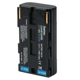 Hama Li-Ion Akku für Canon BP-915 V60Hi V65Hi XM1 XL1s G30Hi XLH1 MV1 MV10 etc.