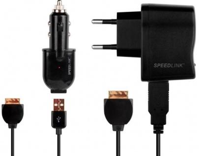 Speedlink USB + KFZ Ladegerät Netzteil Ladekabel Lader für Sony PSP GO Konsole