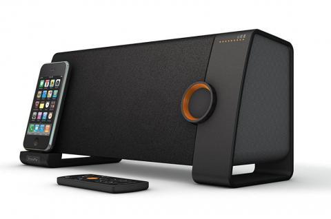 XtremeMac Tango TRX 2.1 Wireless High-End Audio-System Bluetooth Lautsprecher
