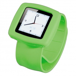 Hama Uhrenarmband Band Fancy Beat grün Armband Uhr Kit Watch für iPod Nano 6G