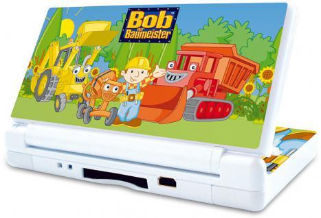 Design Folie Schutzfolie Skin Bob der Baumeister Maschinen für Nintendo DS Lite