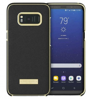 Kate Spade New York Saffiano Hardshell Cover Case Hülle für Samsung Galaxy S8
