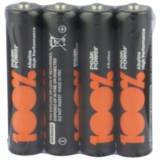 GP Peak-Power 100% AAA-Batterie 4er Pack 1, 5V Alkaline AAA-Batterien Micro LR03