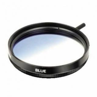 Hama Verlauf-Filter blau 49mm Effekt-Filter Farbfilter für Kamera Foto DSLR etc.