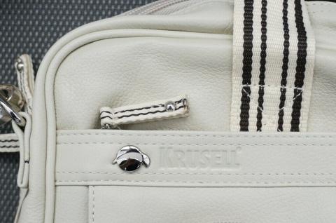 "Krusell Breeze Notebook-Tasche Leder creme Laptop 15"" 15, 4"" 15, 6"" 16"" Hülle - Vorschau 3"