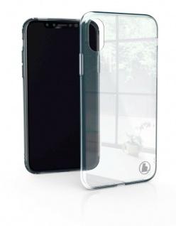 Hama Glas-Cover Case Schutz-Hülle Tasche Etui Klar für Apple iPhone XS Max
