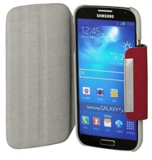 Hama Handy-Tasche 360° Flap Case für Samsung Galaxy S4 Mini Klapp-Tasche Hülle