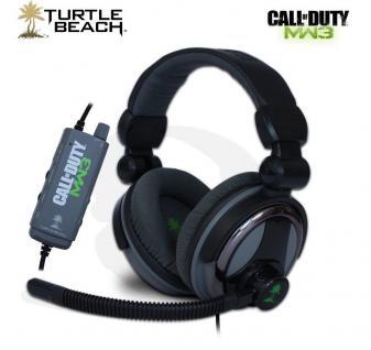 Turtle Beach Charlie Z6A 5.1 Gaming Headset Kopfhörer COD MW3 für PC Sound-Karte
