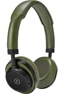 Master & Dynamic MW50 Oliv Wireless On-Ear Headset Bluetooth Kopfhörer Earphones