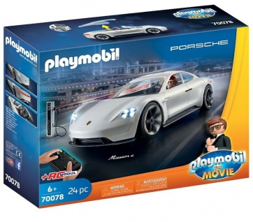 Playmobil 70078 PLAYMOBIL THE MOVIE Rex Dasher's Porsche Mission E Ferngesteuert