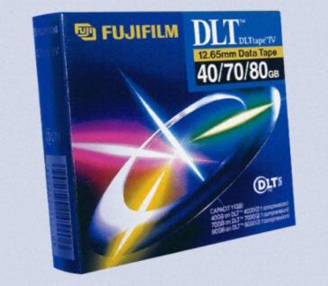FUJI STREAMBAND DLT TAPE KASSETTE 40/70/80 GB 12, 65mm