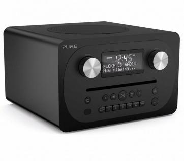 Pure Evoke C-D4 Digital-Radio DAB+ CD Bluetooth Kompakt-Anlage All-in-One System