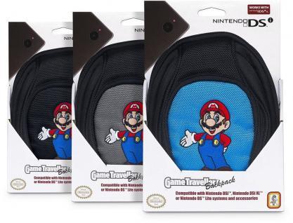 Nintendo Licensed Super Mario Rucksack Tasche Case für New 3DS 3DS XL DSi DS etc