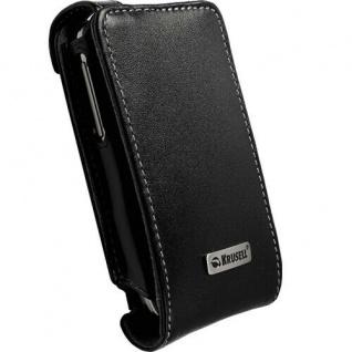 Krusell Leder-Tasche Cover Orbit Flex Case Etui für HTC Touch 2 Schutz-Tasche