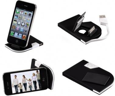 Hama Dock Card Lade-Station Docking USB-Kabel Ladegerät für Apple iPhone iPod ..