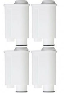4 Wasserfilter Kaffeevollautomat passend für Gaggia Philips Saeco Brita Intenza+