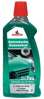 Nigrin BioTec Autowäsche Konzentrat 500ml Auto-Shampoo Reinigung Pflege PKW