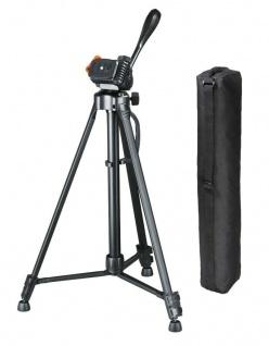 Hama Dreibein-Stativ Gamma 153cm 3D 3-Wege-Kopf Kamera-Stativ Foto-Stativ DSLR